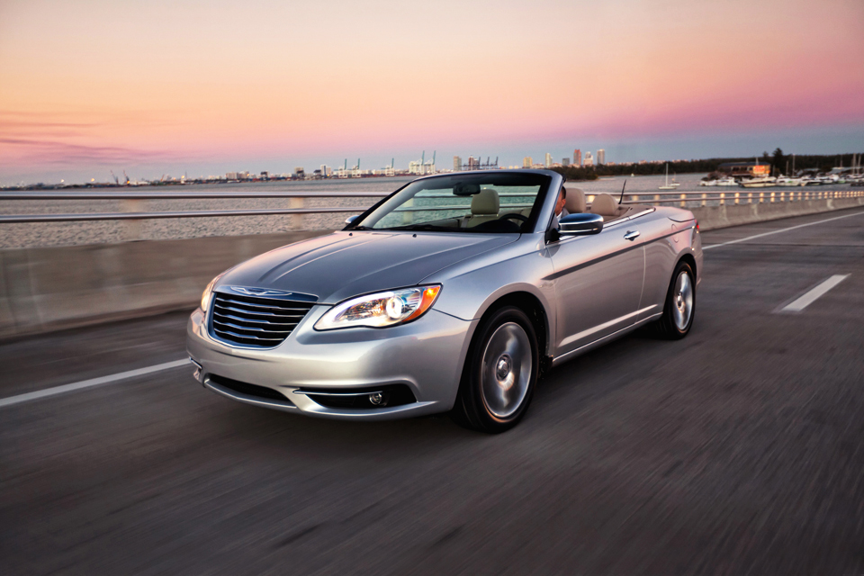 reviews s chrysler convertible drive review price original car and driver photo