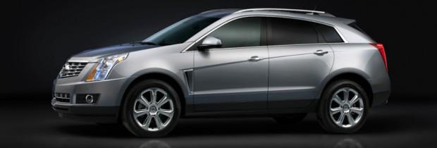 2013 Cadillac SRX exterior