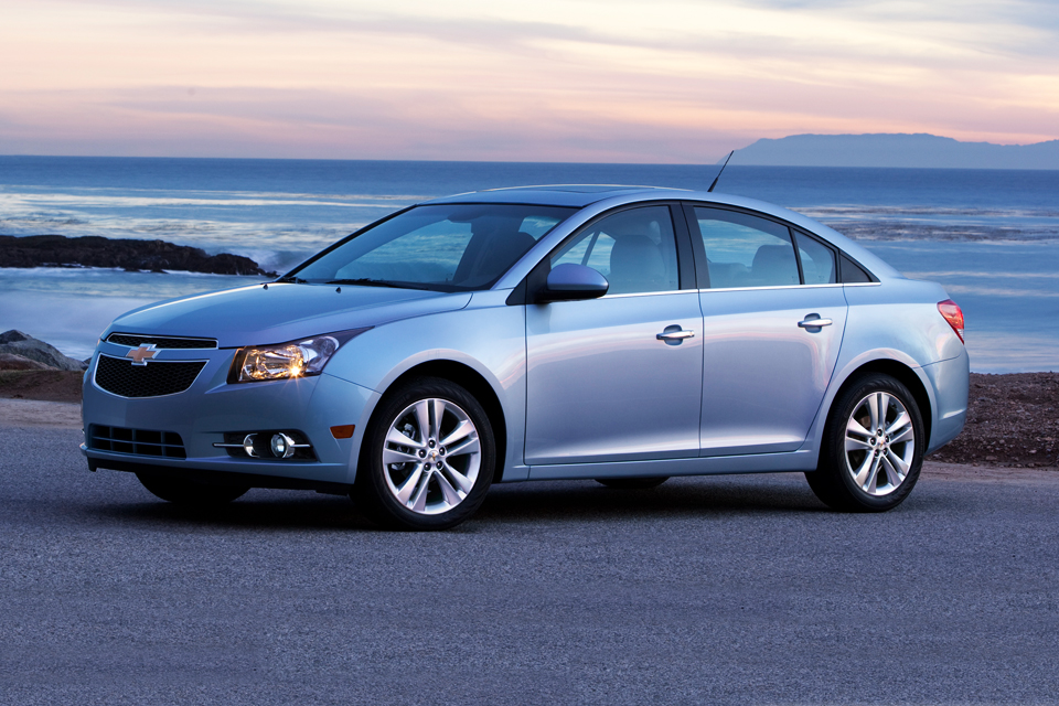 City Car Driving Chevy Cruze