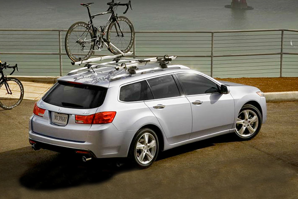Acura TSX Sport Wagon Review VroomGirls - Acura tsx roof rack
