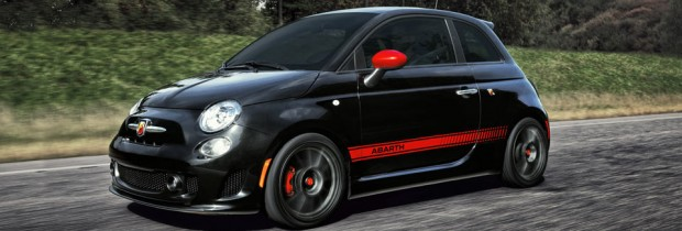 black fiat abarth