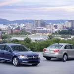 2012 Volkswagen Passat Blue And Silver