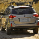 2012 Subaru Outback Back
