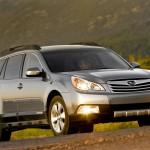 2012 Subaru Outback Silver Headlights