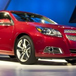 2013 Chevrolet Malibu Unveiled At New York Auto Show