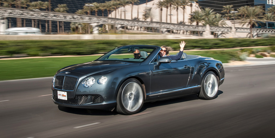 2013 Bentley Continental GT Speed Convertible Review | VroomGirls