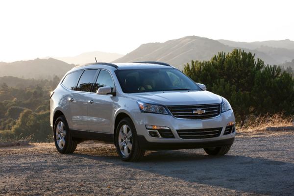 2013 Chevrolet Traverse Review Best Car Site For Women Vroomgirls