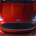 2014 Ford Fiesta Hood