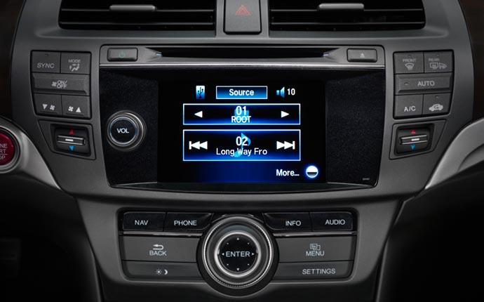 ... 2014 Honda Crosstour Interior Feature Audio System Detailsa ...