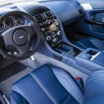 Aston Martin Blue Interior