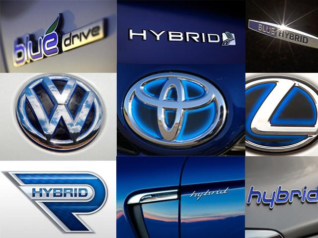 history of hybrid cars  the blue emblem is born