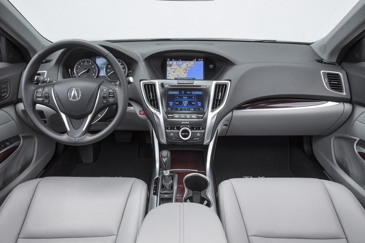 Superb ... 2015 Acura TLX Interior L4 ...