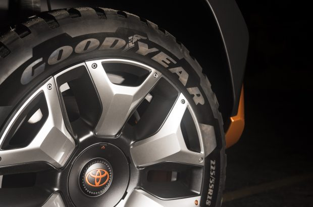 Toyota FT-4X Wheel