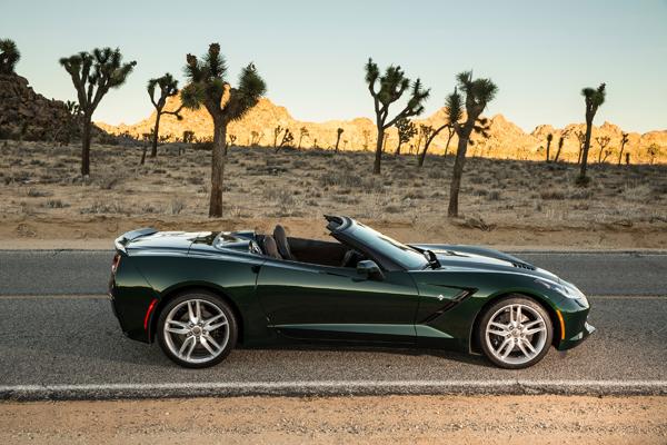 2017 Chevrolet Corvetteconvertible Corvette Face Green