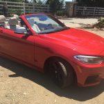 BMW M240I Red