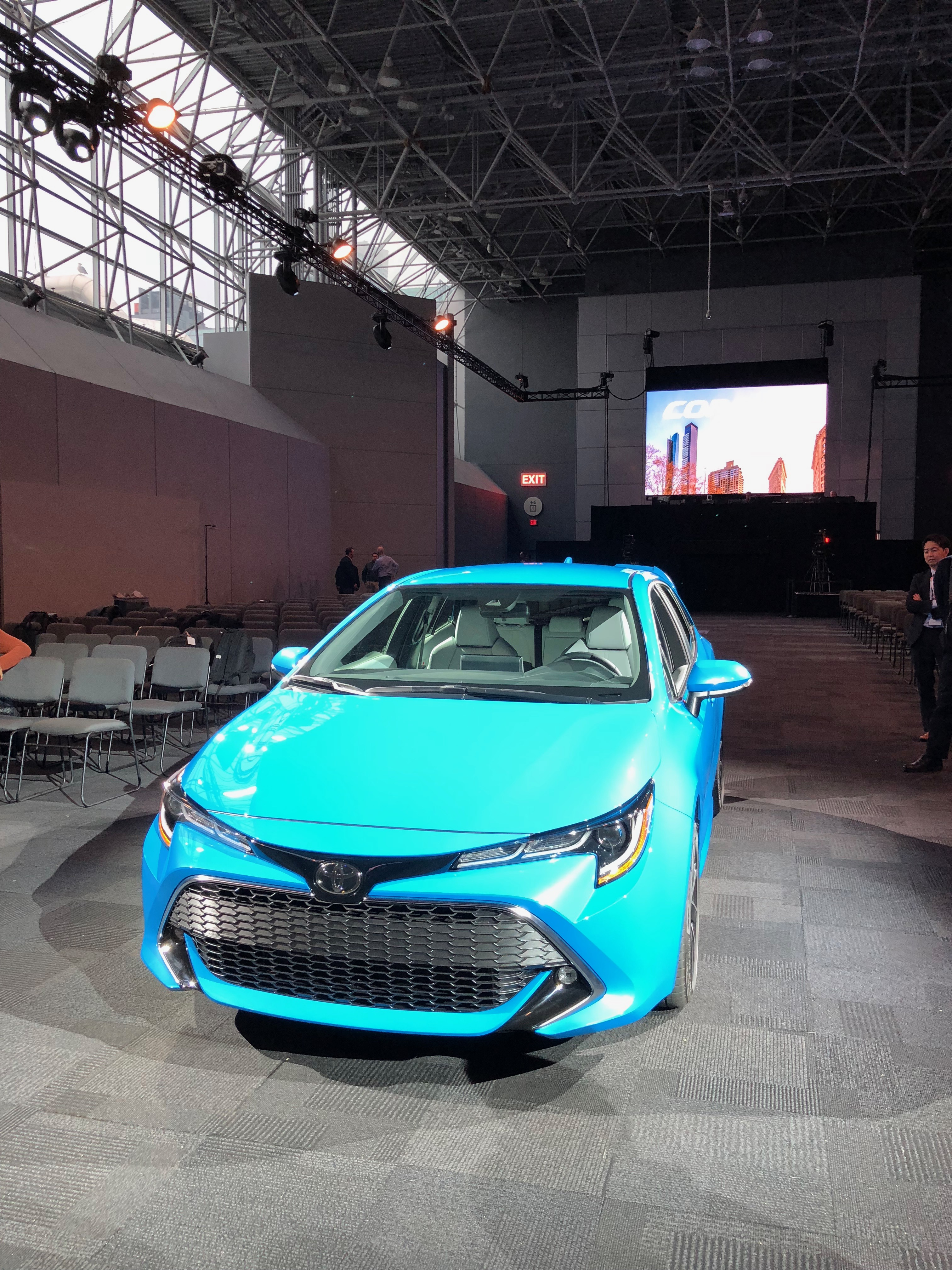 All New 2019 Toyota Corolla Hatchback Debuts In New York Vroomgirls