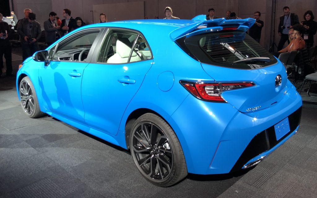 New Toyota Corolla >> All New 2019 Toyota Corolla Hatchback Debuts In New York